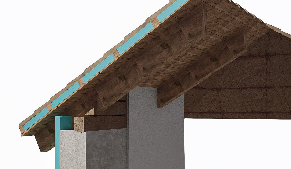Sloping Roof Detail