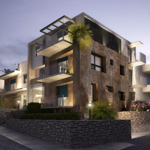 Luxury Appartment Building in Mastaba, Rethymno