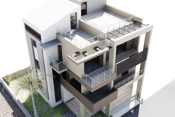 Luxury Flats Complex at Rethymno Beach
