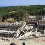 Ironing in the Formwork of villa Daphne