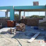 Brick Construction Stage of villa Rose