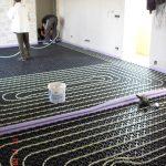 Under Floor Heating Installation