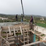 Concrete Screed of villa Aphrodite