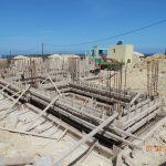 Villa Iris Foundation Formwork