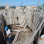 Ironing in the Swimming Pool Formwork