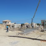 Concrete Screed of villa Lia