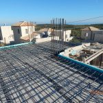 Ironing of villa Lia's first floor Slab