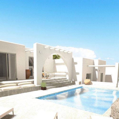 Swimming pool Galini Villa