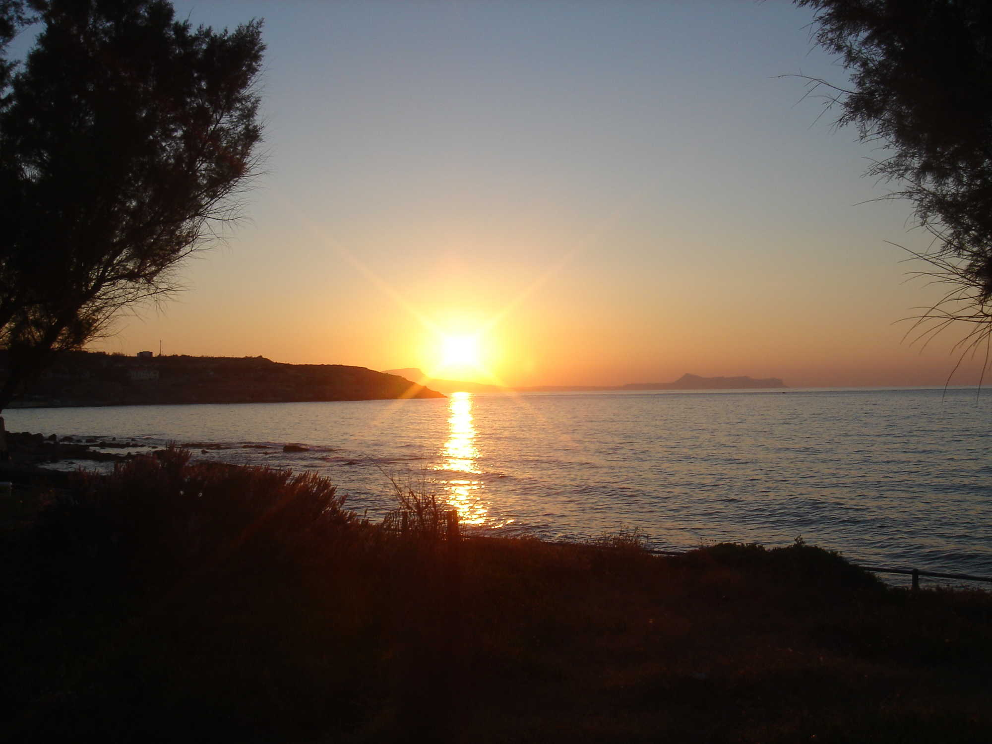 Sunset in Rethymno