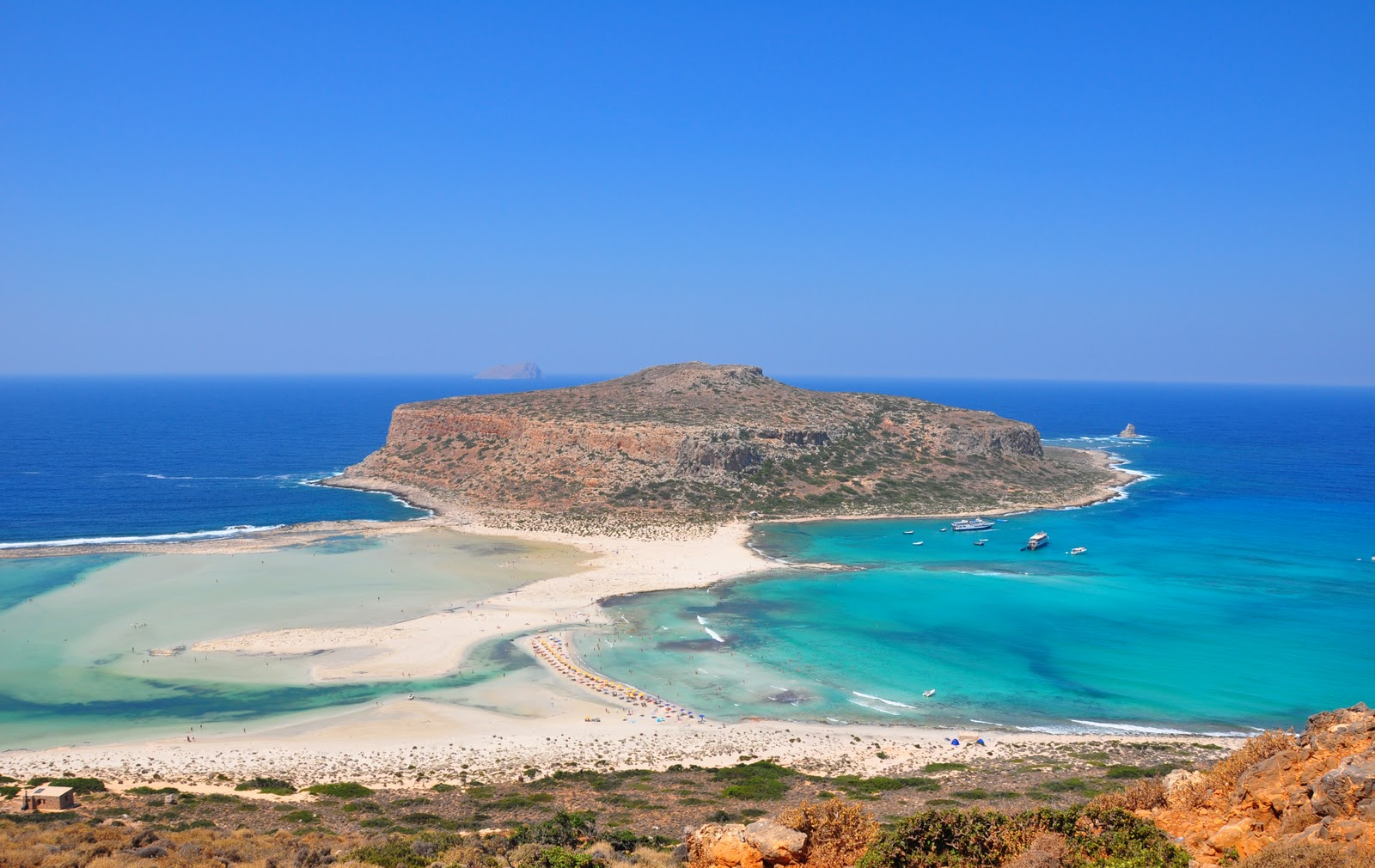 Balos Exotic Beach in Crete