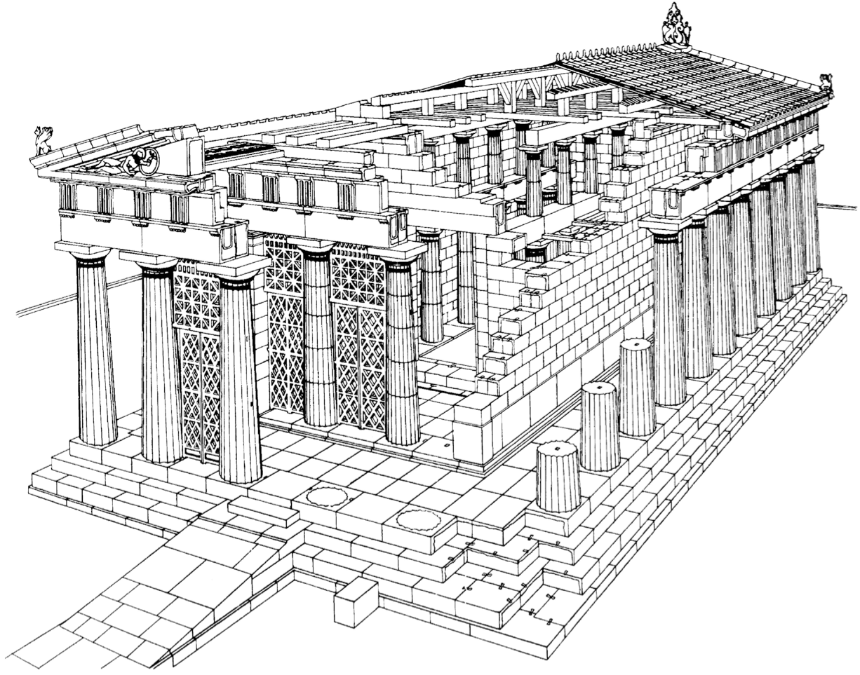 Ancient Greek Temples Typology