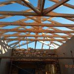 Sky Roof Trusses Project Villa Maia