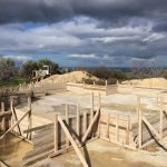 Sky Clouds New Project Excavation Crete