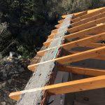 Wood Roof Development Villa Maia