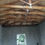 Wood Roof Trusses Project Construction