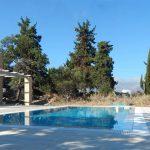 Crete villa pool