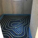 underfloor heating villa