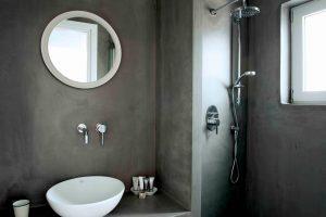 Galini Breeze studio bathroom