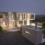 two storey villa