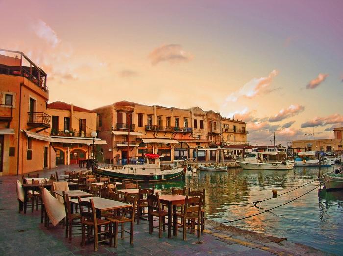 Rethymno Venetian Harbor