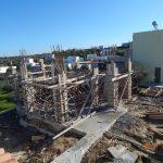 Villa Lavender Static System Under Construction