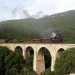 Railway in Pelion, Greece