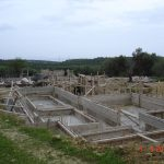 Foundation Formwork of villa Nefeli