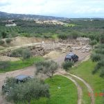 Construction work in Olive Grove Starts