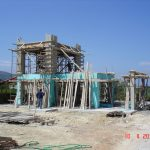 Concrete Formwork on villa Armonia
