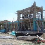 Concrete Formwork of villa Ariadne
