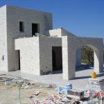 Exterior Tiles of villa Armonia