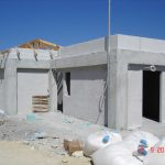 Plastering in three stages in the exterior and interior walls