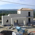Houses Under Construction in Rethymno