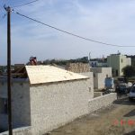 Pitched Roof under Construction