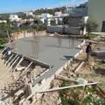 Concrete Screed of villa Lavender's Ground Floor