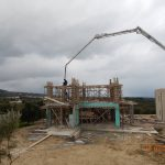 Villa Aphrodite's Concrete Carrier Construction