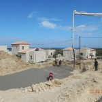 Leveled Concrete Base of villa Lia