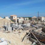 Concrete Foundation of villa Lia & Lyto