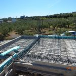 Metal Reinforcement of villa Iris Slab and Beams