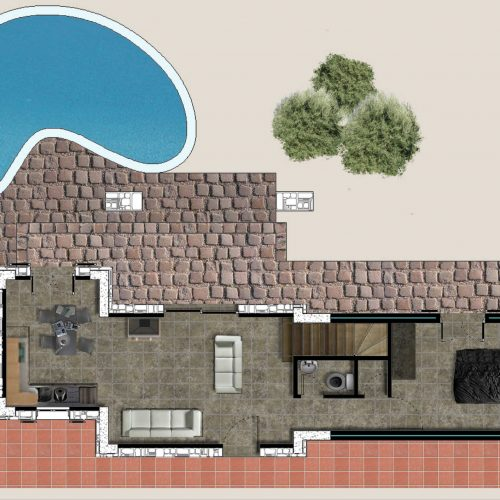 Traditional Villa Iris Ground Floor Plan