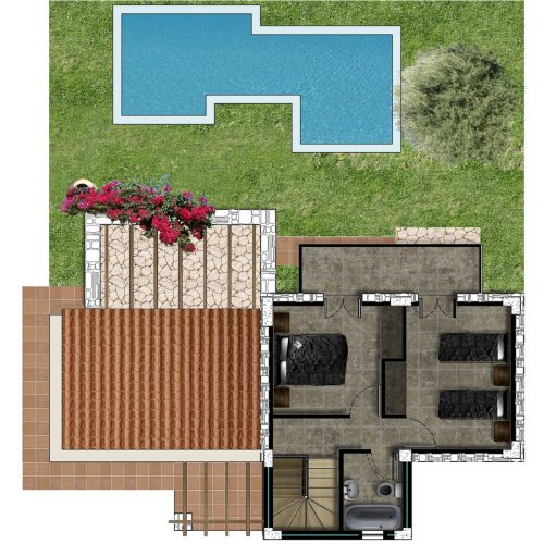 Villa Lily First Floor Plan