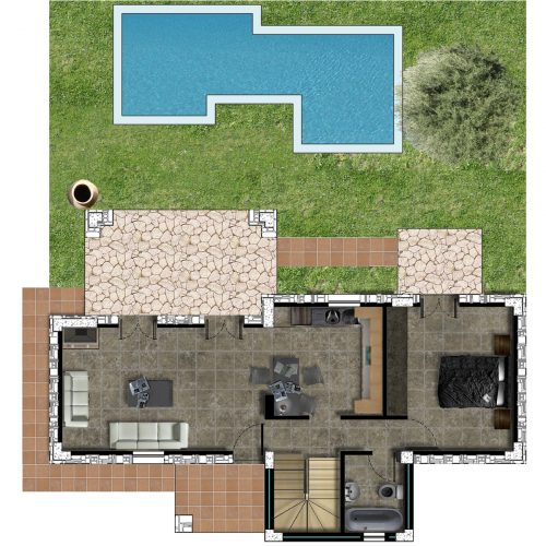 Villa Lily Ground Floor Plan