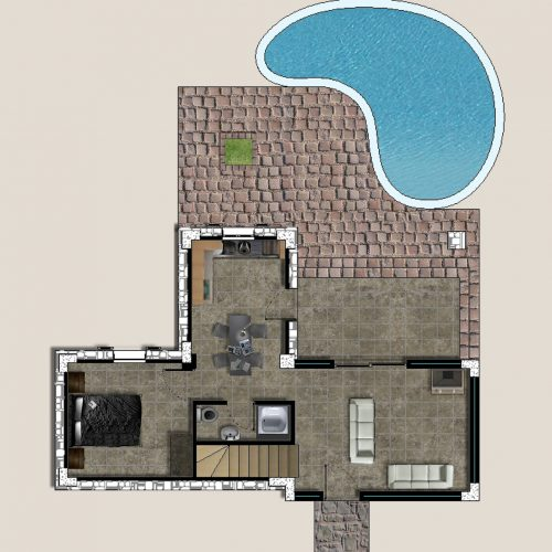 Villa Lyto Ground Floor Plans