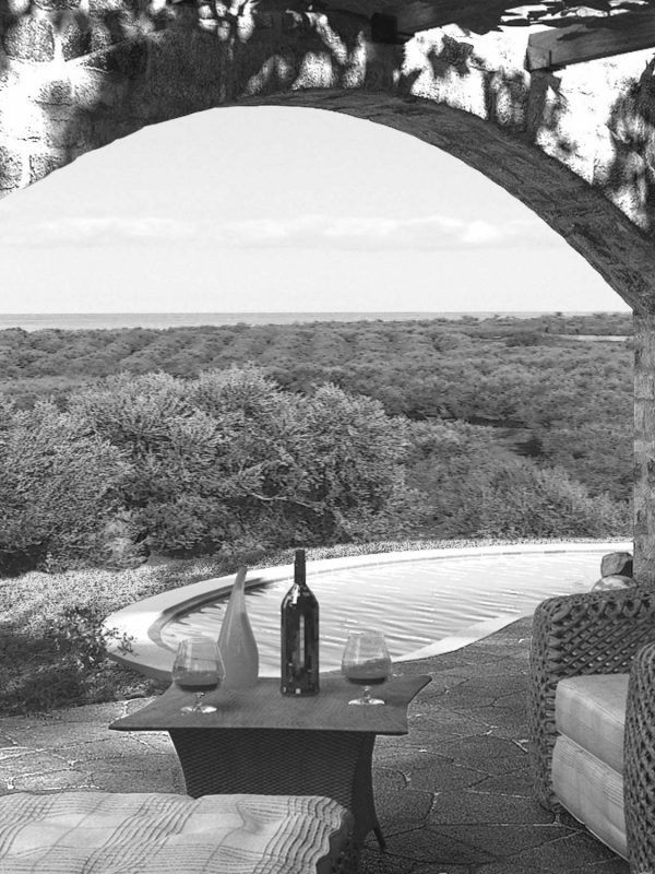 Villa Rose - View to the Aegean Sea