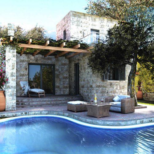 Villa Lyto a spacious, stone built villa with swimming pool