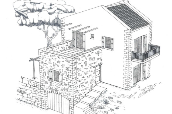 Cretan Traditional Stone - built Houses