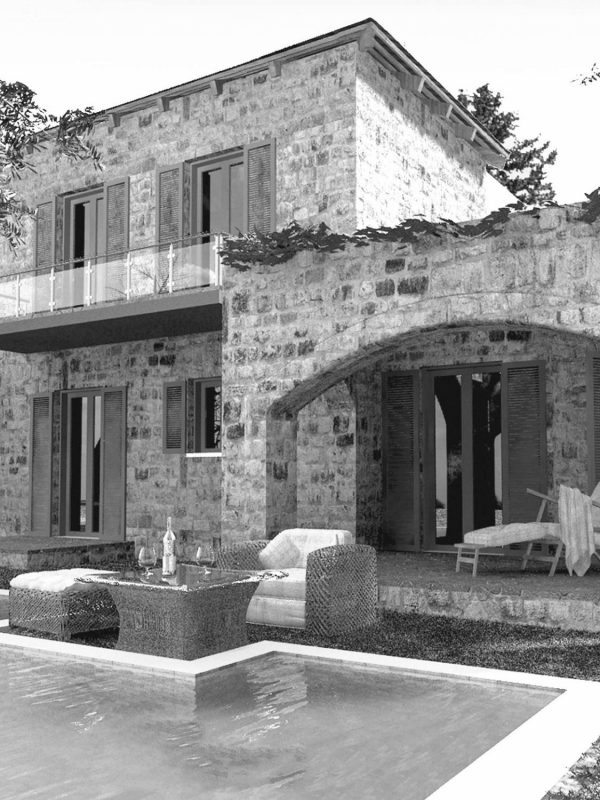 Villa Lily - a traditional stone built house with swimminig pool in Chania