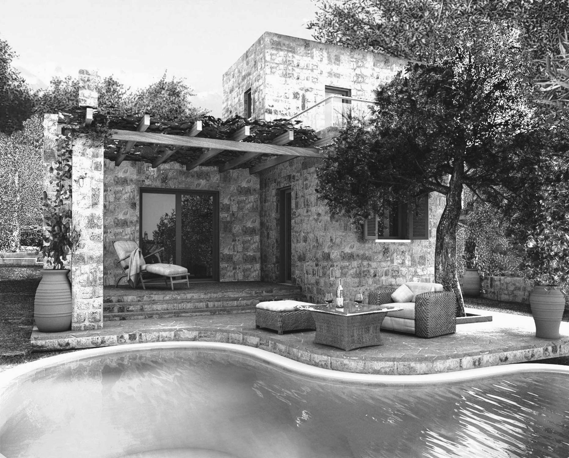 Villa Lyto - Traditional Property with Swimming Pool