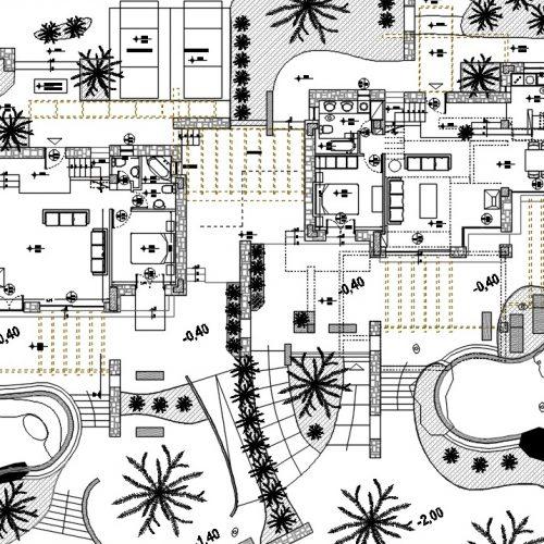 Masterplan of Cliffed Coast Villas