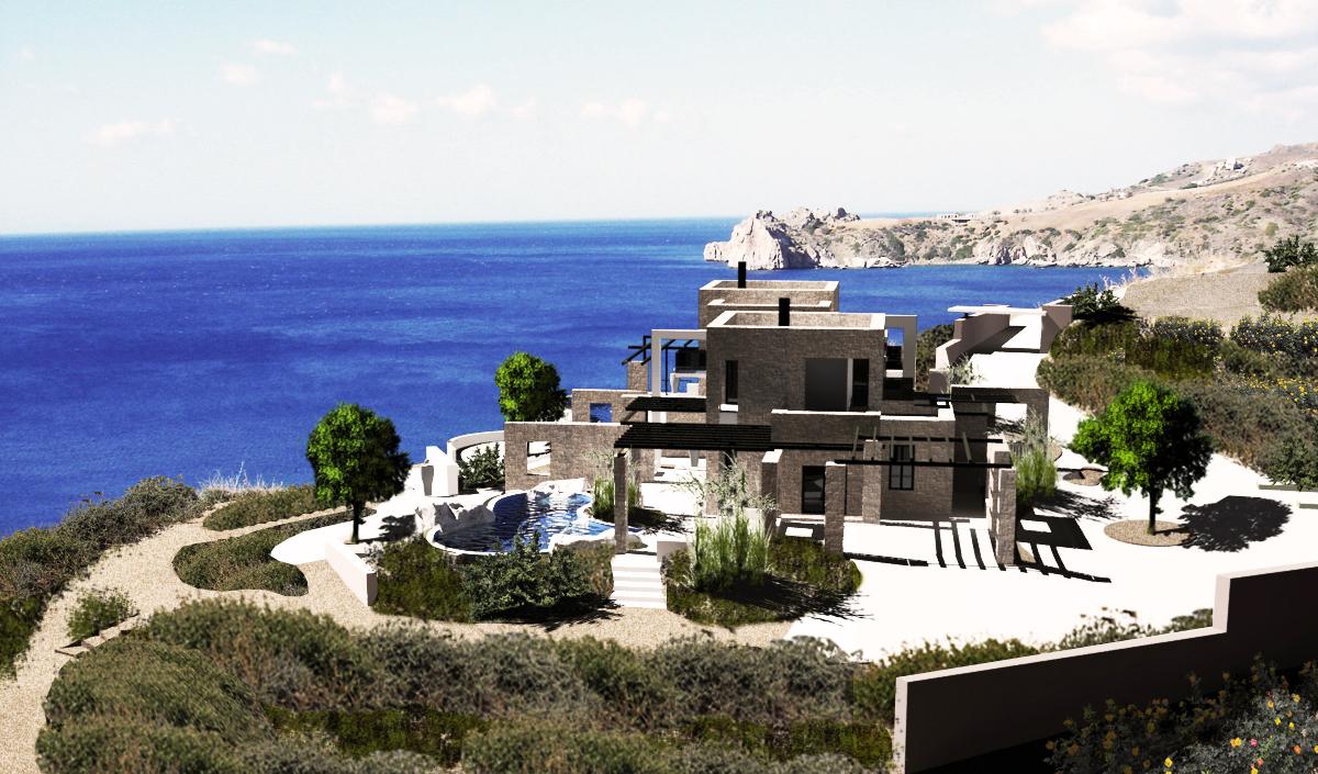 Cliffed Coast Villas
